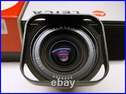 Leitz Canada 11134 Leica Elmarit- M 2.8/21mm Sammlerstück boxed OVP