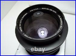 Leitz Canada 6 In. F2.8 Elcan In Speed Graphic Metal Lens Board