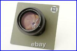 Leitz Canada / ELCAN 6in 12.8, J. A. Maurer aerial lens on Sinar plate