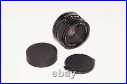 Leitz Canada Summicron-R 50mm f/2 Prime 3 Cam Lens for Leica R Mount 35mm SLR