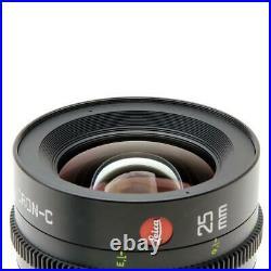 Leitz Cine 25mm T2.0 Summicron-C Lens PL Mount (Feet) SKU#1187569