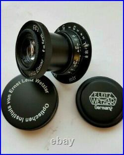 Leitz Elmar 3.5/50 mm RF M39 Lens LEICA Zeiss Eleitz Wetzlar Black FED Zorki