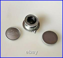 Leitz LEICA Objektiv ELMAR 3,5/5cm Germany Red Scale Lens Leica M39 Near Mint
