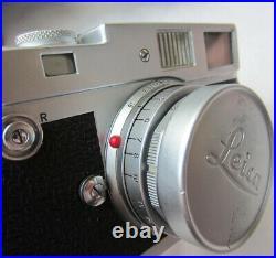 Leitz Leica 1959 M2 View Finder Camera With Ernst Leitz 50mm F 2.8 Lens