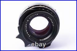 Leitz Leica 35mm 1.4 Summilux M Canada built 1983 near mint 3254013 for M6