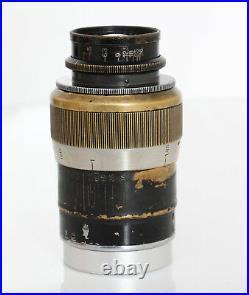Leitz Leica 90mm f/4 Elmar- Screw Mount Fat version READ DESCRIPTION