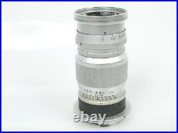 Leitz Leica ELMAR M 4/90 4/9cm f=9cm 14 Nr. 1178377 E39 Filtergewinde