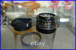 Leitz Leica Summicron M 35mm f/2 lens 11310 Bokeh King Mint glass Exc+++
