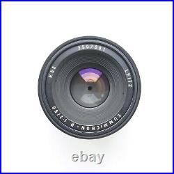 Leitz Leica Summicron R 50mm f/2 3-cam SLR Lens