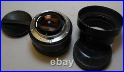 Leitz Leica Summilux-R 50mm f/1.4 50/1.4 1st version with 12508 Hood & 14171 Cap