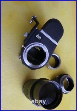 Leitz Leica f. M39 Telyt 4/200mm & Visoflex III