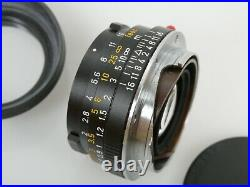 Leitz SUMMICRON C 2/40 40mm 12 M Bajonett für Leica CL minolta CLE + Geli Hood
