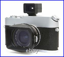Leitz Super Angulon 21mm f/3.4 Wide Angle Lens with Finder, Hood, Filter Leica M