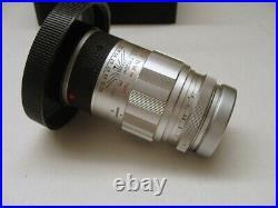 Leitz Wetzlar 11129 Leica Elmarit M 2.8/90mm silber Lens Germany TOP
