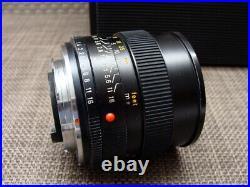 Leitz Wetzlar 11776 Leica Summilux-R 1.4/50mm E55 Lens Germany RAR