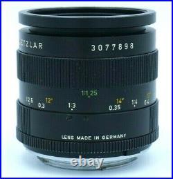 Leitz Wetzlar Elmarit-R 60mm F2.8 Macro Used