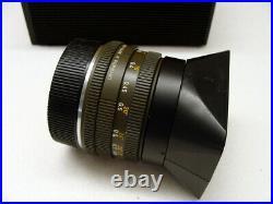 Leitz Wetzlar Leica Elmarit-R 12.8/28mm Safari Made in Germany RAR