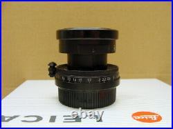 Leitz Wetzlar Leica Summicron-M39 12/5cm black finish/repaint TOP