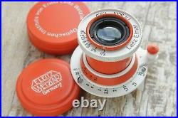 Limited edition Leitz Elmar 3.5/50 mm RF M39 Lens LEICA Zeiss Eleitz Wetzlar