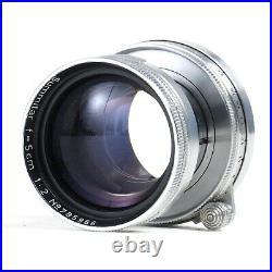 MINT- Leica Leitz Summitar 5cm 50mm f2 Collapsible L39 Screw Mount Lens #5966