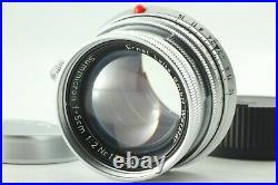 MINT Leica Leitz Wetzlar Summicron 5cm 50mm f/2 M mount Lens from Japan #J24