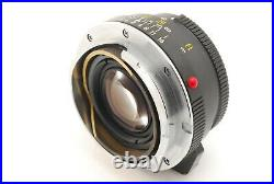 MINTMinolta M-Rokkor 40mm F/2 For Leitz Leica CL CLE Lens From JAPAN