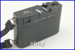 Meter Works Leitz Minolta CL M Rokkor 40mm f2 Lens Film Camera Japan