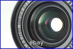 N MINT Hood Leica Leitz Canada 70th Elmarit-M 3rd 28mm f2.8 Lens M Mount JAPAN