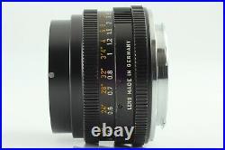 N MINT withHoodLEICA LEITZ ELMARIT-R WETZLAR 28mm F/2.8 MF Lens 3Cam JAPAN #757