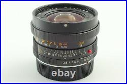 NEAR MINT LEICA LEITZ WETZLAR ELMARIT-R 24mm f/2.8 3 CAM Lens from Japan 642