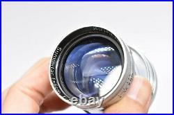 NEAR MINT LEICA Leitz Summitar 5cm 50mm f/2 Leica Screw Mount L39 LTM Japan