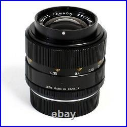 NEAR MINT Leica Leitz Canada Summicron-R 35mm f2 3-Cam R Mount Lens #3098