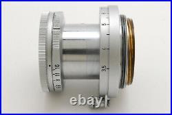 Near Mint Leica Leitz Elmar 50mm f/2.8 Lens for M Mount From Japan By FedEx