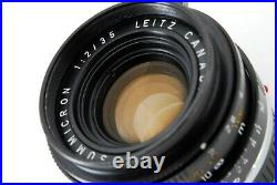 Near Mint Leitz summicron 35mm f/2 canada from Japan