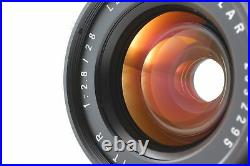 Near Mint in Box Leica Leitz Elmarit R Wetzlar 28mm F/2.8 Lens 2Cam From JAPAN
