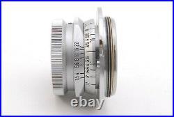 NearMintLeica Leitz Summaron 3.5cm 35mm f/3.5 L39 LTM Leica Screw (480-E628)