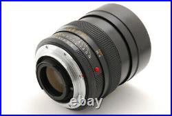 RARE MINT Leica Leitz Wetzlar Summilux R 80mm f1.4 Lens 3 CAM From JAPAN #1870
