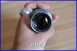 RARE VINTAGE Leitz Leica 50mm Summicron f2 collapsible LENS WITH CAP
