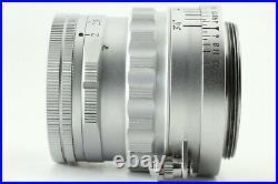 RAREYr, 1958 Leica Leitz Summicron 50mm 5cm f/2 Rigid silver L39 LTM From JAPAN