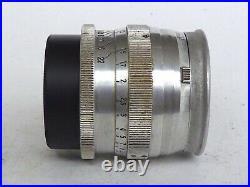 Rare! Zeiss Sonnar 1.5/5 cm for Leica / Leitz M39 Anschluss red T