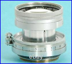 SUMMICRON 50mm F2 LEICA Summicron f=5cm 12 Lens made by LEITZ Wetzlar in 1955