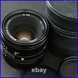 SUMMICRON-R 50mm F/2.0 ROM E55- near mint Leitz Wetzlar Germany Leica