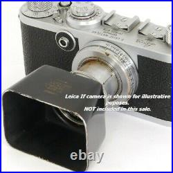 Summar f=5cm 12 Leitz SUMUS LEICA LTM / L39 Lens Made in 1937 + SOOMP Lens Hood