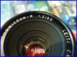 Summicron-r 12 / 50 Leitz Canada For Leica R Camera Lens Au Stock