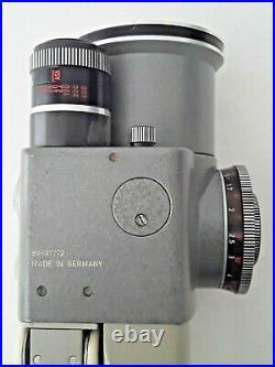 Tested Germany Leica Leitz Leicina 8mm Movie Camera +variogon 8-48mm F1.8 Lens
