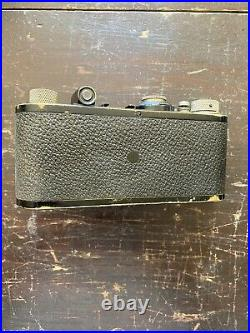 Vintage Antique Leica 1A Film Camera with 50mm Leitz Lens 1929 Rare Collectible