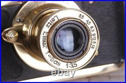 Vintage Leica 35 mm camera Kreigsmarine with Leitz Elmar lens f = 5, 13.5